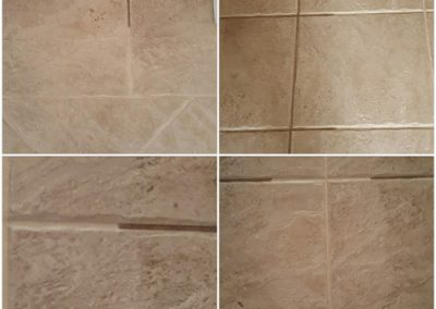 Tiles Cleaned by Andrews Carpet Services