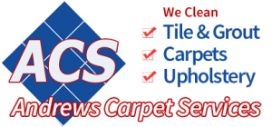 Andrews Carpet Services Logo - We Clean Tile & Grout, Carpets, Upholstery