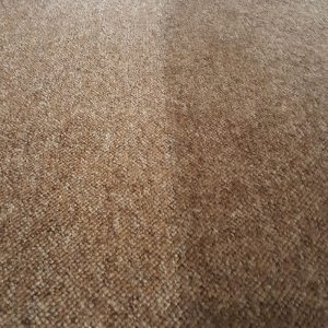 Before and after of Carpet being Cleaned in Perth home